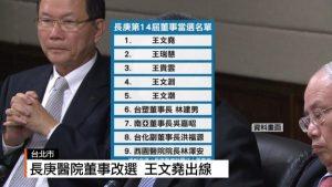 長庚醫院董事改選 王文堯出線